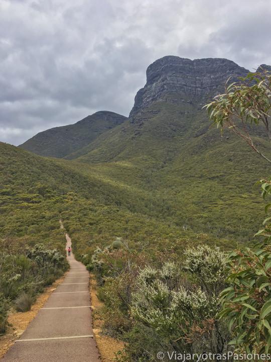 Maravilloso Bluff Knoll Walk en el Stirling Range Park en el viaje a Perth y Western Australia