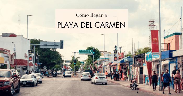 Cómo llegar a Playa del Carmen desde el aeropuerto de Cancún