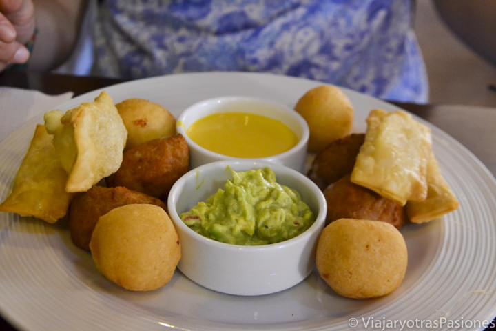 Deliciosa comida típica de Arequipa en Perú en el restaurante Capriccio Gourmet