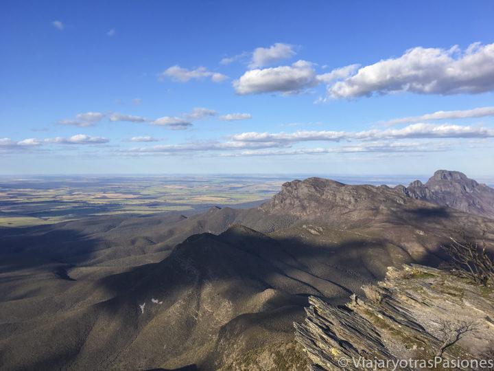 Increíble panorama desde el Stirling Range National Park en Western Australia