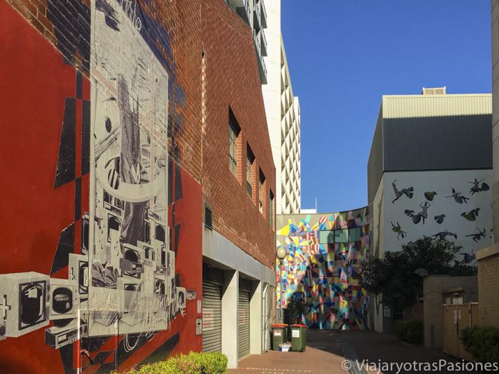 Wolf Lane en el CBD en el viaje a Perth y Western Australia