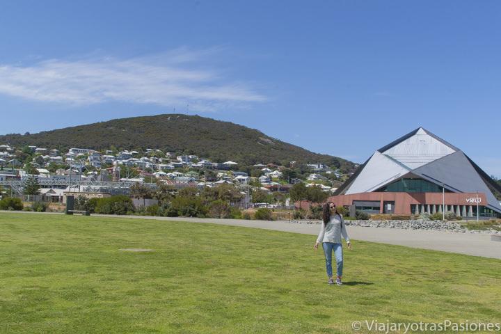 Centro de la ciudad de Albany en el viaje a Perth y Western Australia