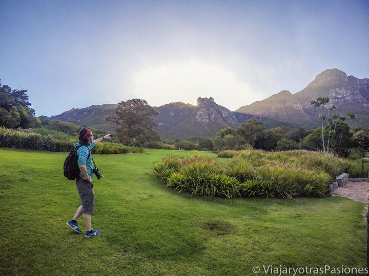 Kirstenbosch, jardín botánico de Ciudad del Cabo