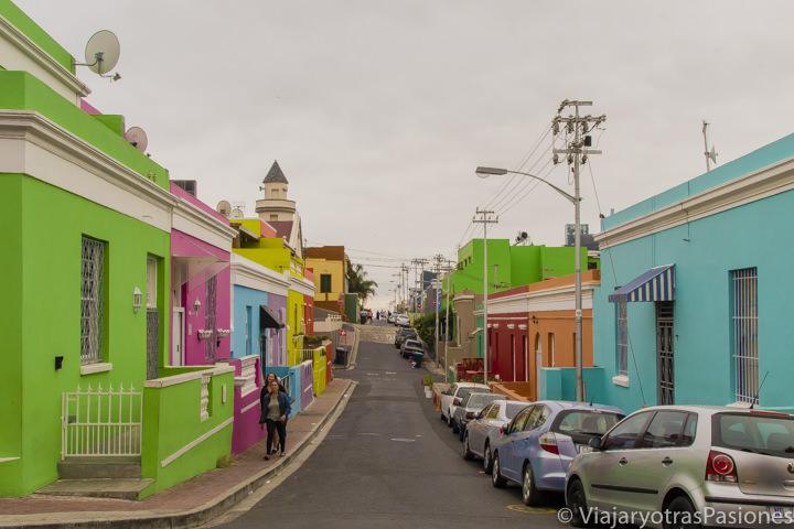 El colorido y bonito barrio de Bo Kaap, en Ciudad del Cabo
