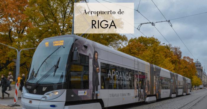 Cómo llegar al centro de Riga desde el aeropuerto