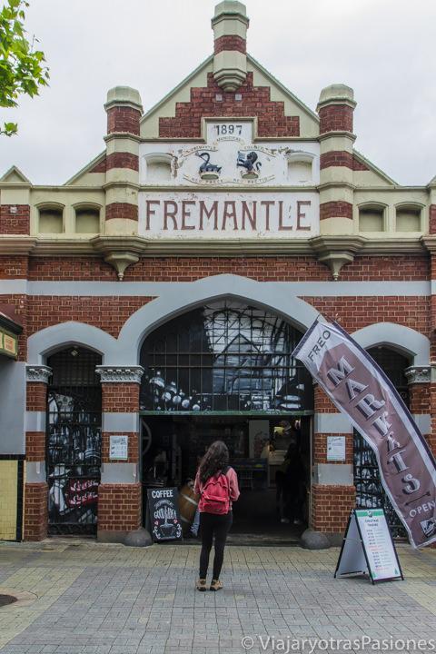 Frente a el Fremantle Market en qué ver en Fremantle en Western Australia
