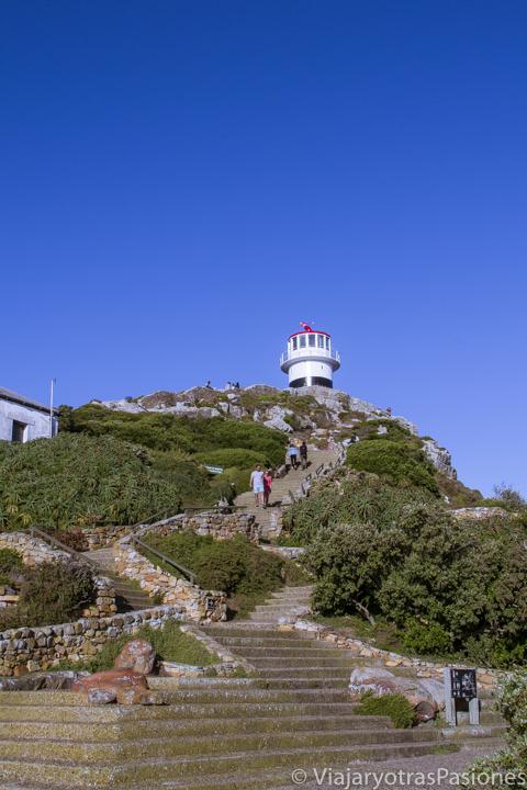 El espectacular faro de Cape Point en el Road trip por la Península del Cabo en Sudáfrica