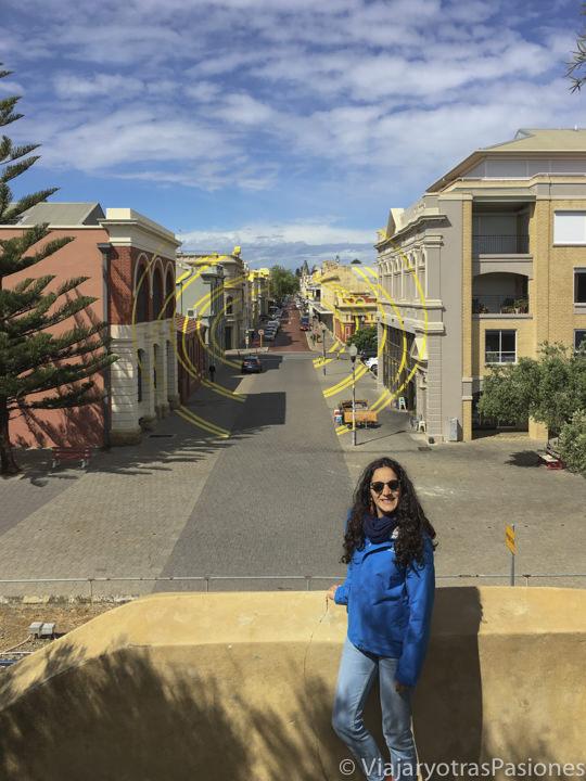 High Street, la calle principal de Fremantle en Perth en el viaje a Perth y Western Australia