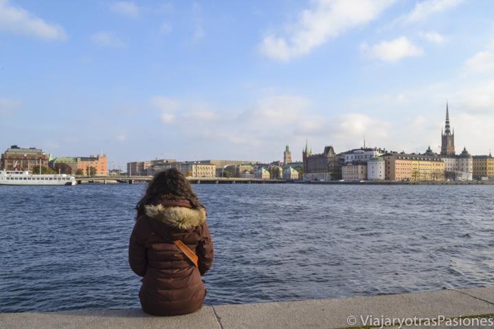 Vista de Estocolmo desde el ayuntamiento