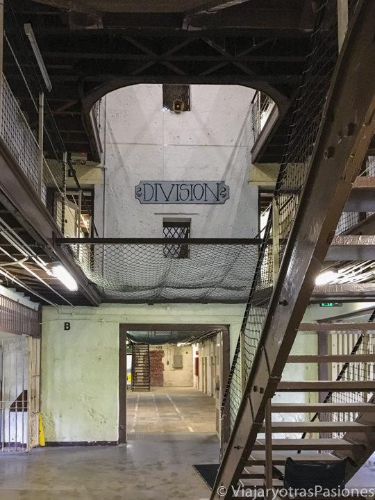 Interior del módulo 2 en la prisión de Fremantle en western Australia