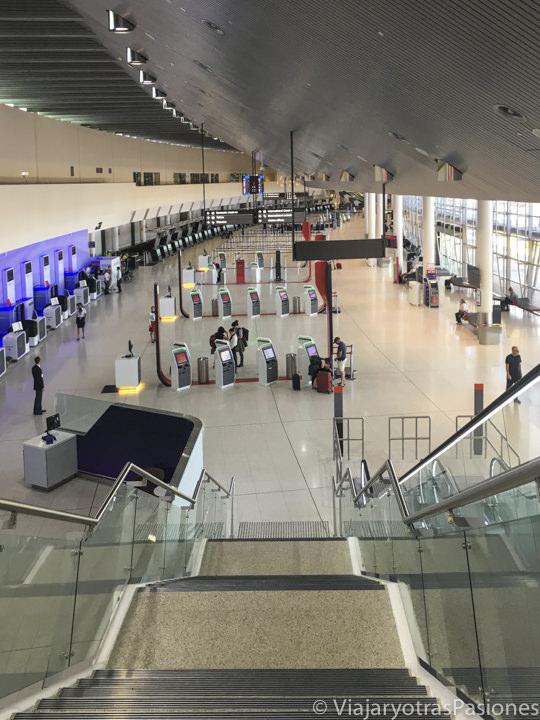 Panoramica de el aeropuerto de Perth en Western Australia