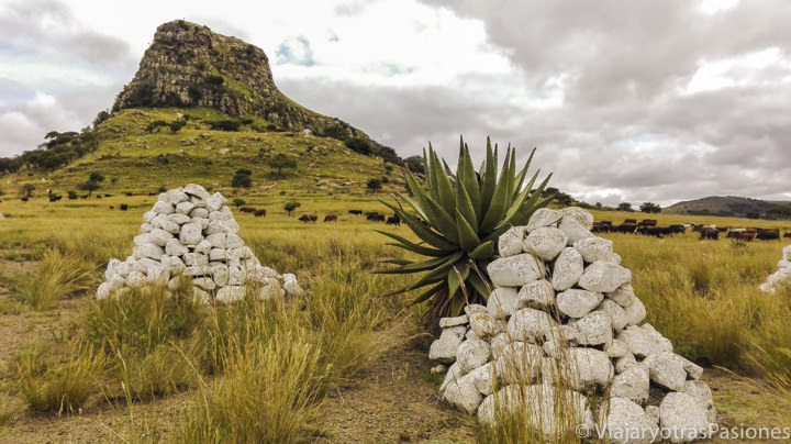 Histórico campo de batalla de Isandlawana, Sudáfrica
