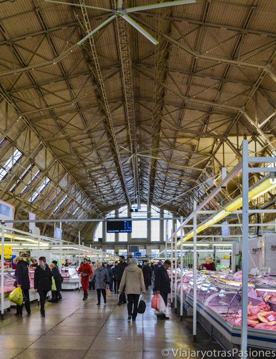 El espectacular mercado central en Riga en dos días en Letonia