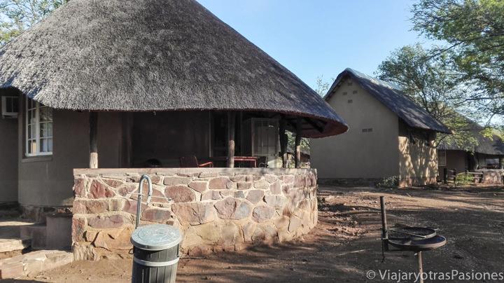 Alojamiento en campo de Olifants en el Parque Kruger en Sudáfrica