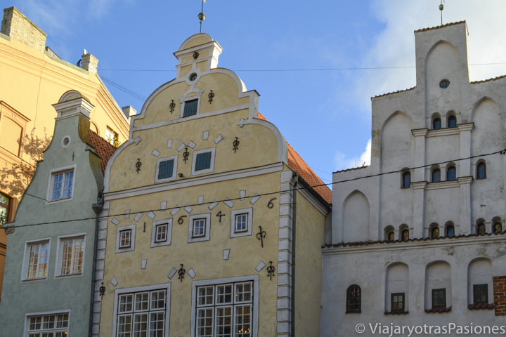 Los famosos tres hermanos en Riga en dos días en Letonia