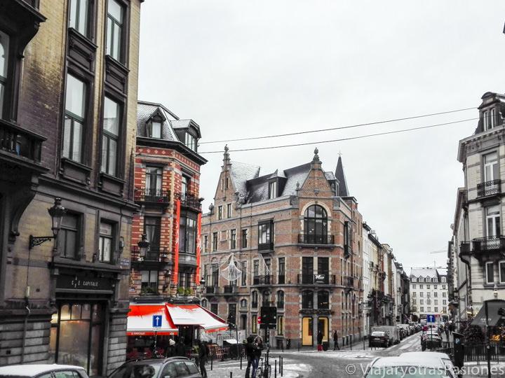 El barrio de Sablon se puede visita en Bruselas en un fin de semana en Bélgica