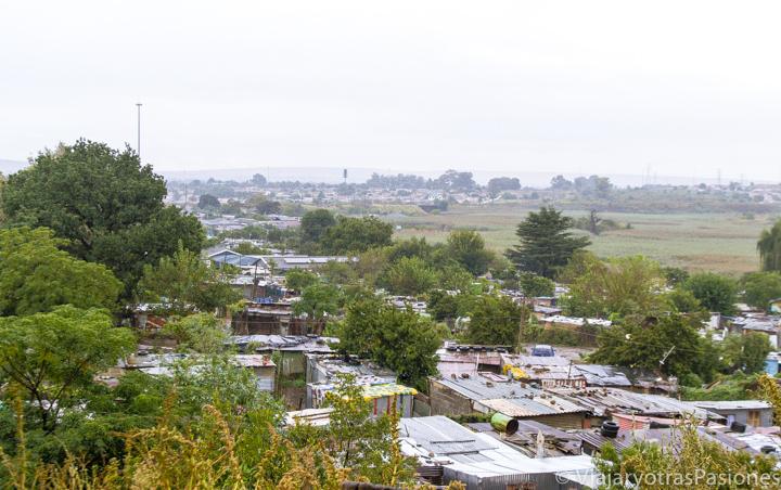 Barrio de Soweto cerca de Johannesburgo viajando en Sudáfrica por libre