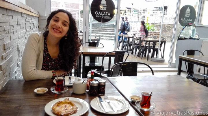 Delicioso desayuno turco en Johannesburgo en Sudáfrica