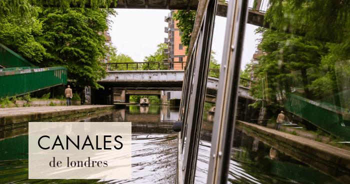 Canales de Londres: De Little Venice a Camden en barco