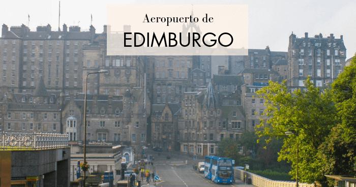 Cómo llegar al centro de Edimburgo desde el aeropuerto