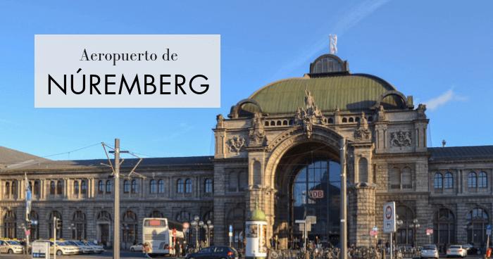 Cómo llegar al centro de Núremberg desde el aeropuerto