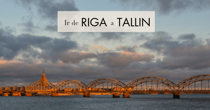 Cómo ir de Riga a Tallin: bus, tren, avión, coche