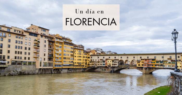 Qué hacer y qué ver en Florencia en un día