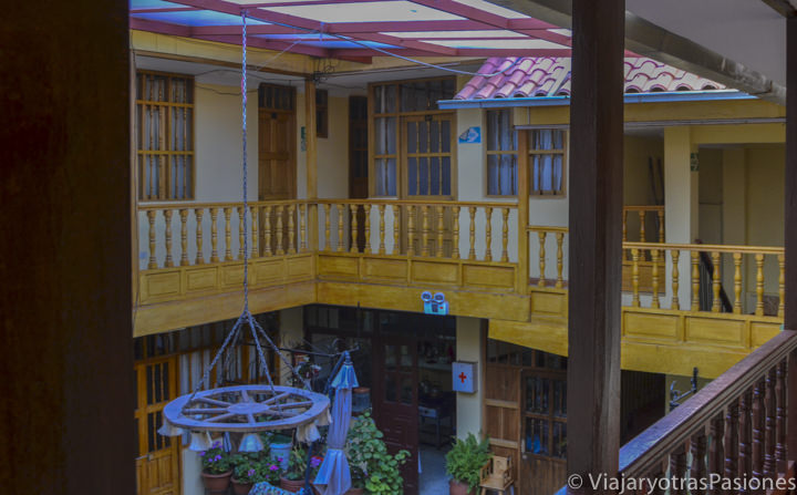 Bonito hotel para visitar el valle sagrado en Pisac en Perú