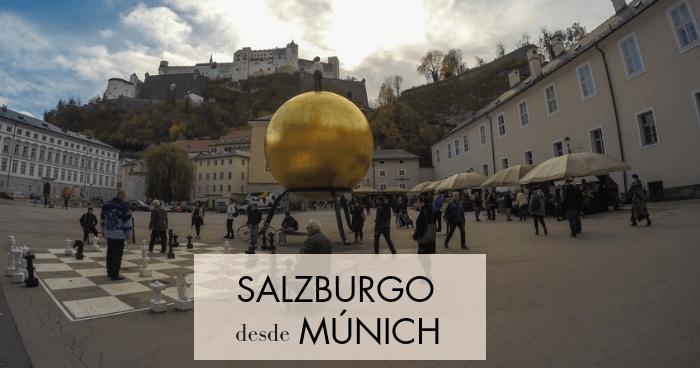 Cómo ir a Salzburgo desde Múnich