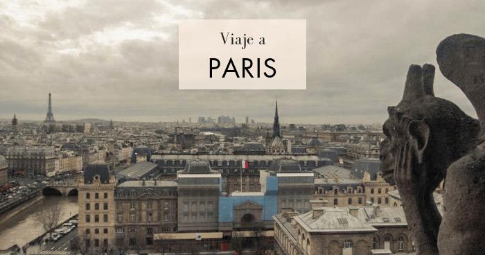 Viaje a París en 5 días