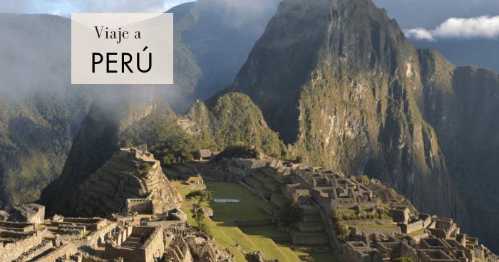 Viaje a Perú en 3 semanas por libre