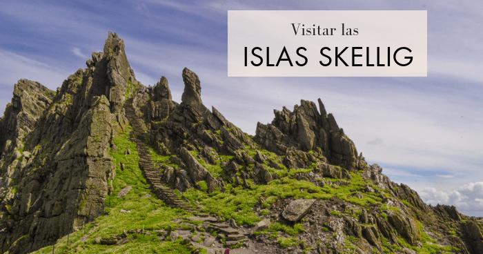 Visitar las islas Skellig en el Anillo de Kerry, Irlanda