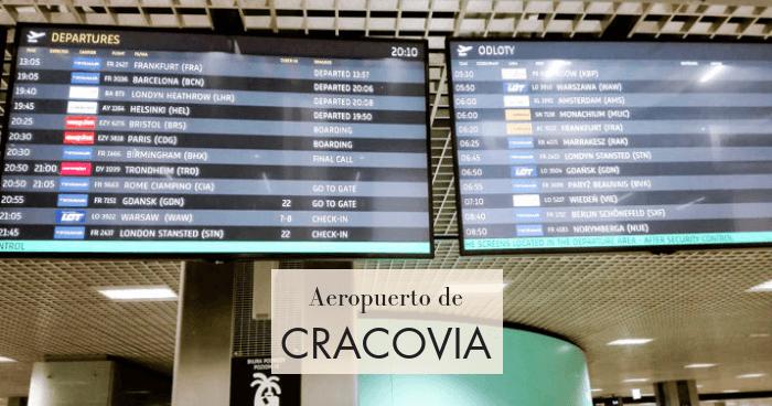 Cómo ir del aeropuerto de Cracovia al centro (2019)