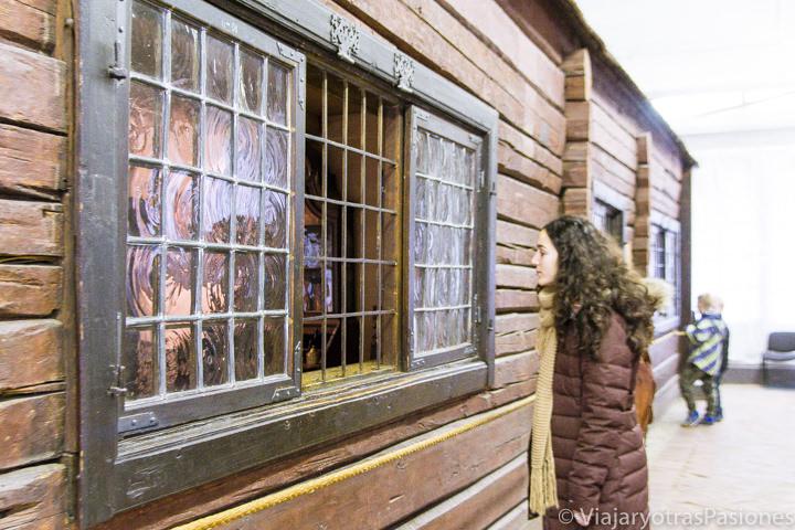Interesante casita de Pedro el Grande en qué ver en San Petersburgo en Rusia