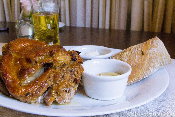Imagen de un delicioso plato de Golonka en Cracovia, Polonia