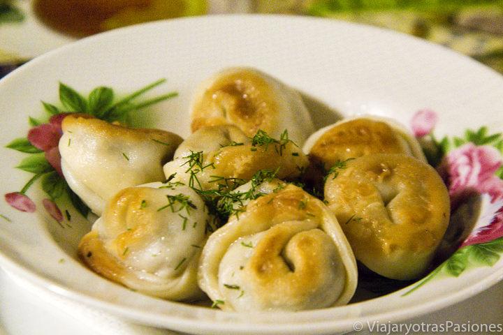 Deliciosos pelmeni que se pueden comer en un viaje a Rusia