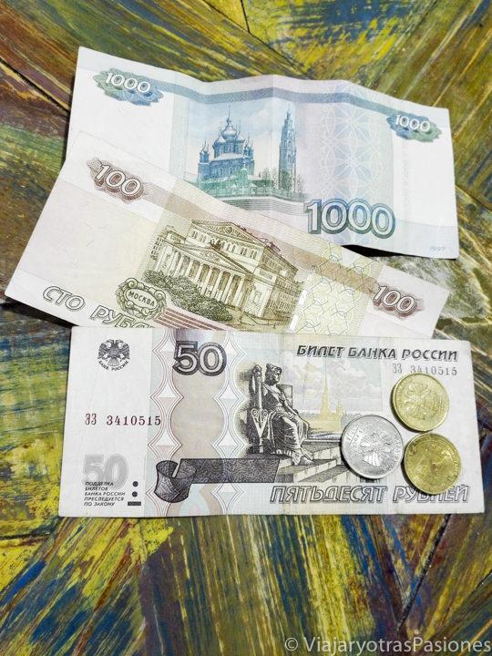 Dinero en Rusia