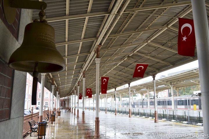 Estación de Sirkeci en Estambul, de donde salía el Orient Express, en Turquía