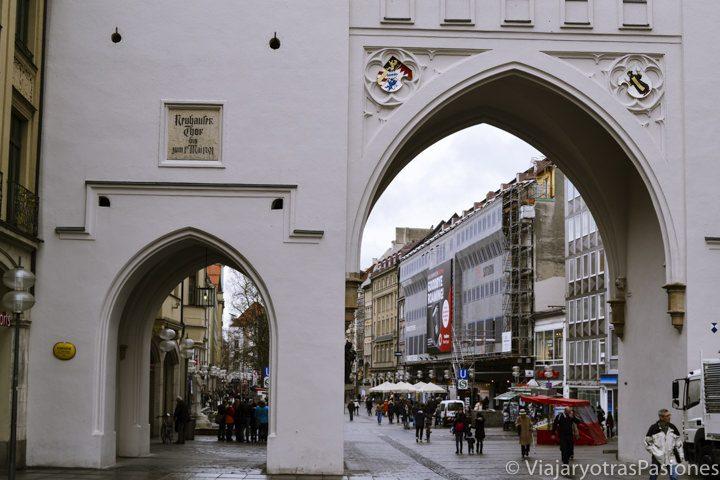 El Karlstor, una de las antiguas puertas de entrada a Múnich en Alemania