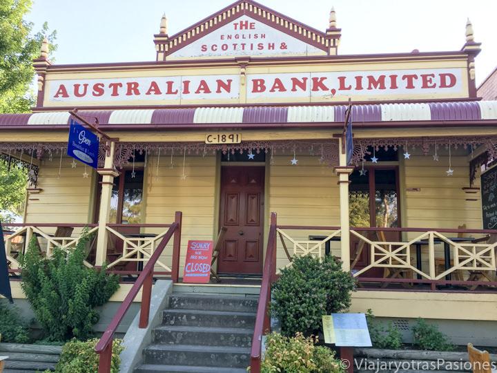 Característico edificio en Kangaroo Valley, Australia