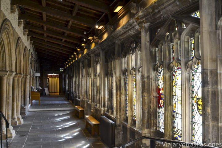 Claustro de la catedral de Bristol, Inglaterra