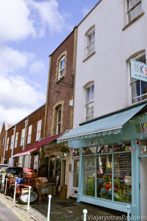 Tiendas vintage en Clifton Village, Bristol, Inglaterra