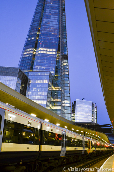 Estación de trenes de London Bridge en Londres, Inglaterra