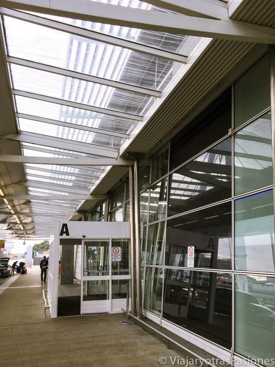 Entrada del aeropuerto de Sydney, en Australia