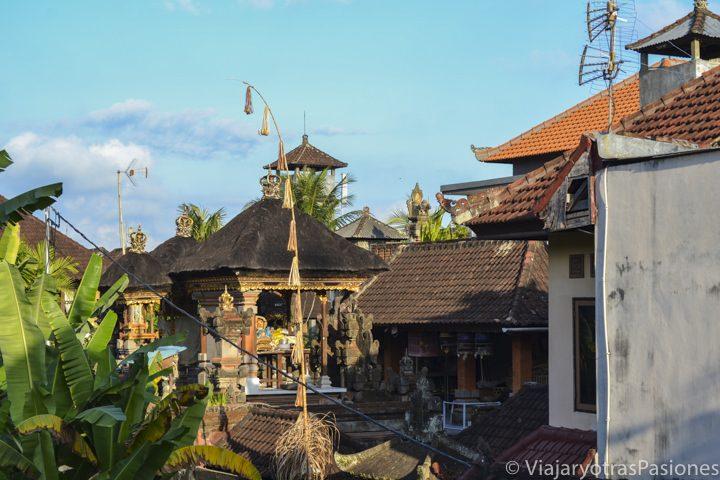 Maravillosa vista de Ubud en el viaje a Singapur y Bali