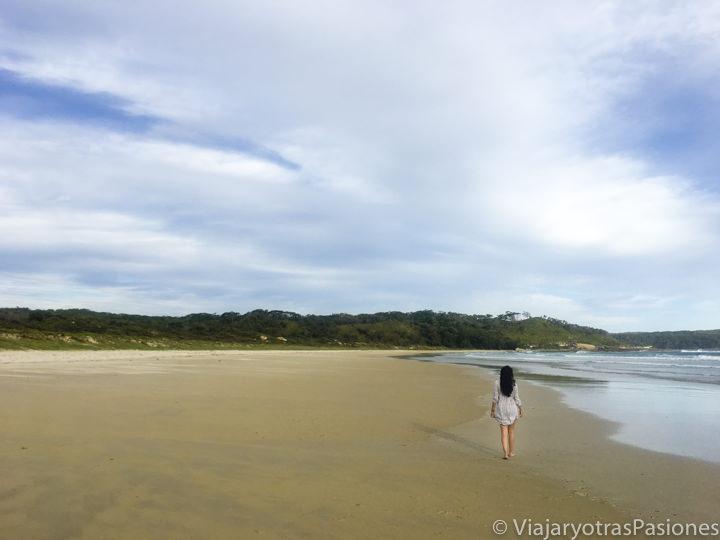 Maravilloso panorama en Cave Beach, cerca de Jervis Bay, en Australia