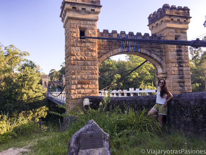 Bonito puente en Kangaroo Valley, Australia