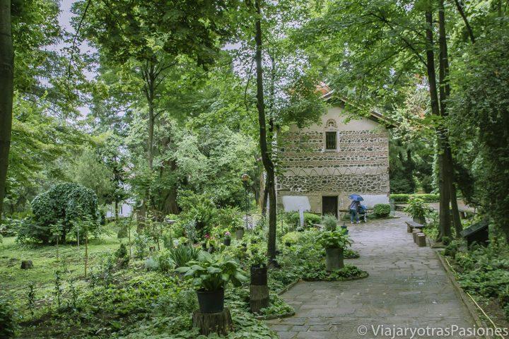 Iglesia de Boyana en los alrededores de Sofía en Bulgaria