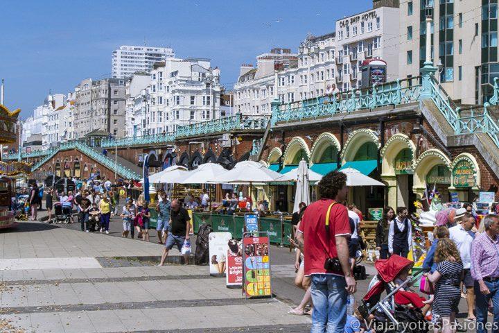 Paseo marítimo de Brighton, Inglaterra