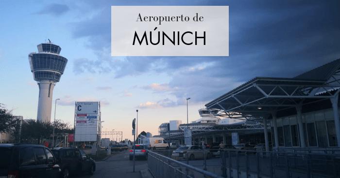 Cómo ir del aeropuerto de Múnich al centro